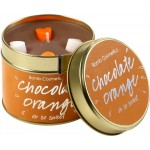 Chocolate Orange Tin Candle