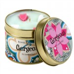 Gorgeous Patterned Tin Candle
