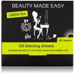 Green Tea Oil Blotting Sheets