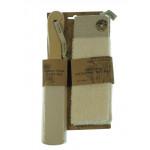 Natural Pumice Foot File & Exfoliating Spa Mitt