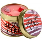 Sex on Fire Patterned Tin Candle
