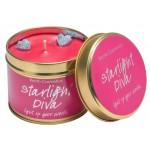 Starlight Diva Tin Candle