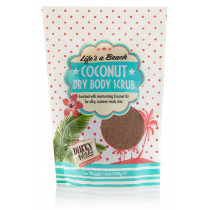 Life's A Beach! Coconut Dry Body Scrub