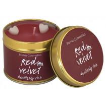 Red Velvet Tin Candle