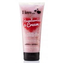 Strawberries & Cream Exfoliating Shower Smoothie