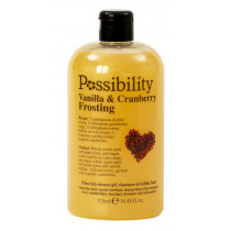 Vanilla & Cranberry Frosting Ultra Rich Shower Gel 3 in 1