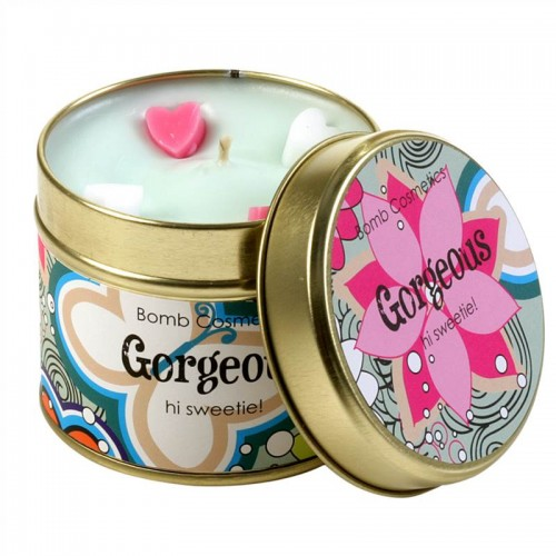 cosmotrade gorgeous patterned tin candle products