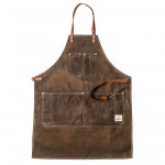 Barber Apron Chocolate
