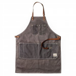 Barber Apron Grey