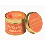 Nectarine & Amaretto Tin Candle
