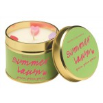 Summer Lawn Tin Candle