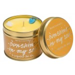 Sunshine in my Soul Tin Candle