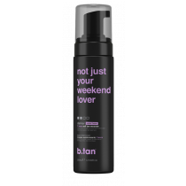 not just your weekend lover violet based self tan mousse